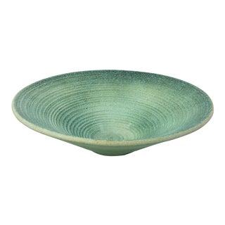 Early Haeger Modernist Ceramic Bowl For Sale