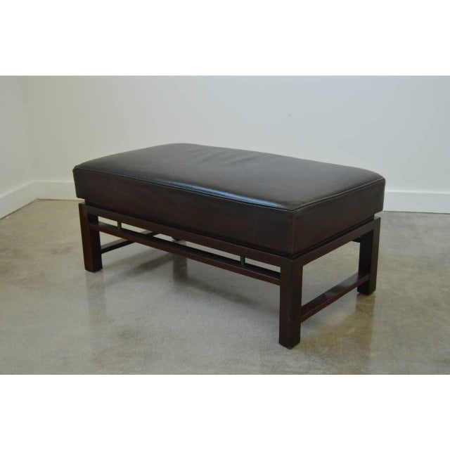 Mid-Century Modern Edward Wormley for Dunbar Benches - a Pair For Sale In West Palm - Image 6 of 12