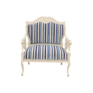 French Restoration Style Fauteuil For Sale
