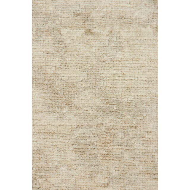 "Traditional Oushak Hand Knotted Area Rug - 8' x 9'10"" For Sale - Image 3 of 3"