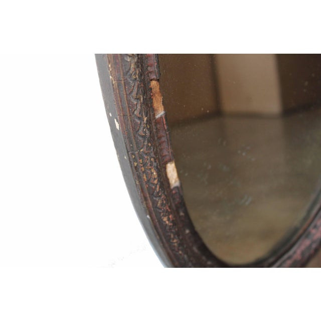 Antique Oval Mirror For Sale In Los Angeles - Image 6 of 10