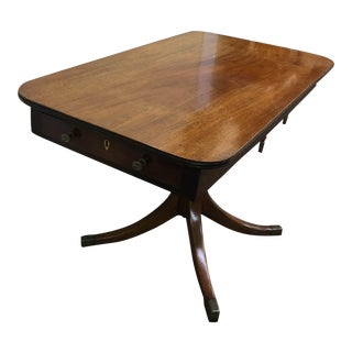18th Century Biedermeier Walnut Side Table For Sale