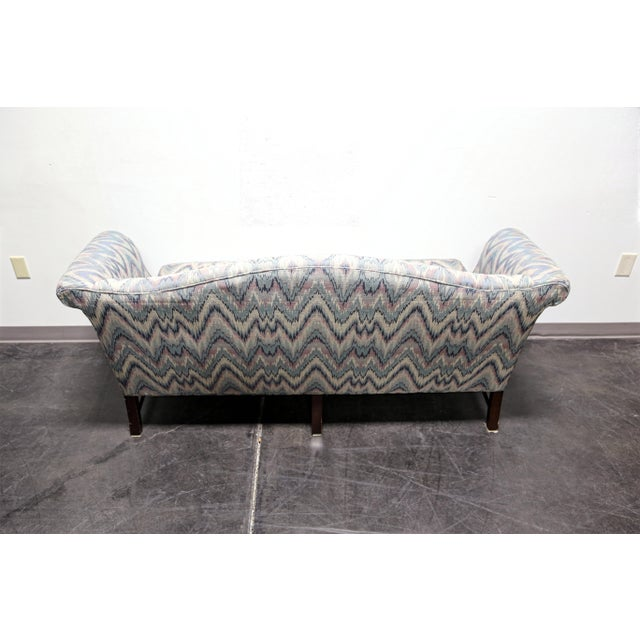 Chippendale Style Mahogany Camel Back Sofa Settee by Conover Chair Co For Sale - Image 5 of 11