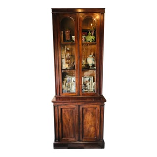 Mahogany 19th Century Bookcase For Sale