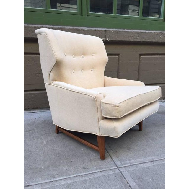 Mid-Century Modern Lounge Chair by Edward Wormley for Dunbar For Sale - Image 3 of 5