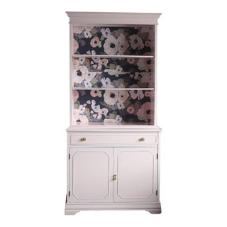Cabinet Lacquered in Pink For Sale