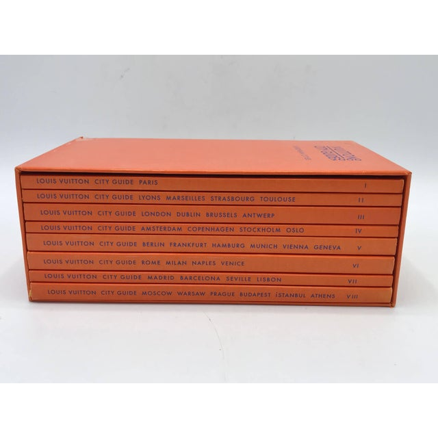 Paper Louis Vuitton European City Guides Box Set, 2000 For Sale - Image 7 of 9