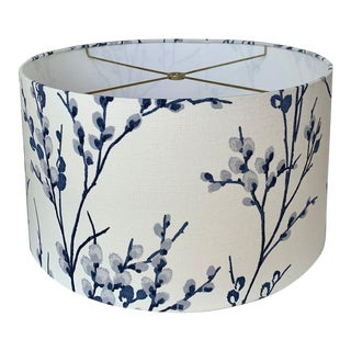 Pussy Willow Off White-Midnight Laura Ashley Lampshade For Sale