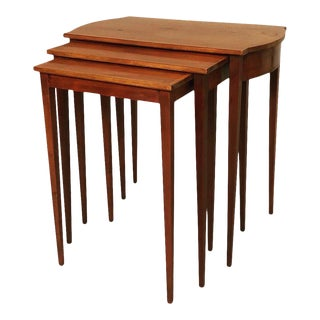 Mid Century Nesting Tables Set of 3 For Sale