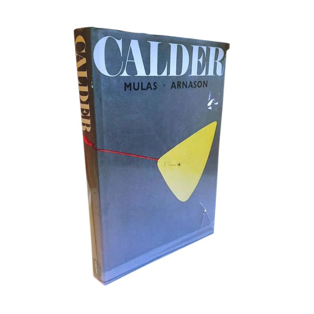 Mid Century Modern CALDER Coffee Table Book Art Photography Book For Sale