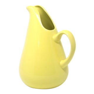 Russel Wright Chartreuse American Modern Pitcher For Sale