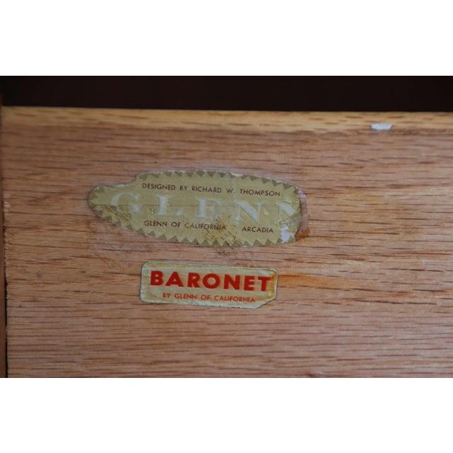 Richard Thompson for Glenn of California Walnut & Rosewood Dresser - Image 11 of 11