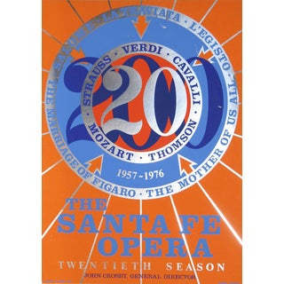 Robert Indiana, The Santa Fe Opera, Serigraph For Sale