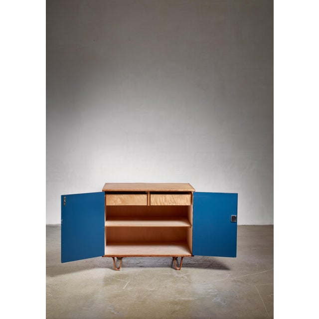 Mid-Century Modern Cees Braakman Cabinet, Dutch, 1950s For Sale - Image 3 of 5