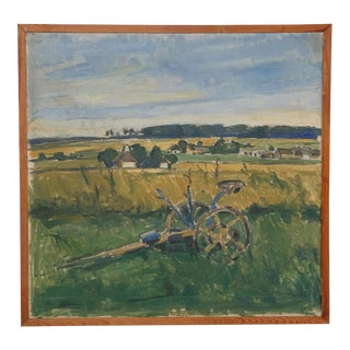 Early 20th-C. Impressionist Farm Still Life For Sale