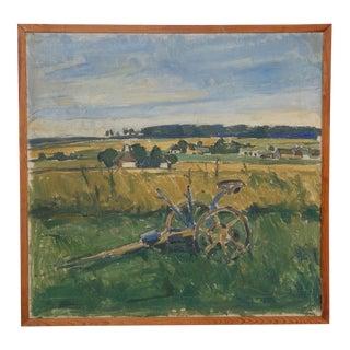 Early 20th-C. Impressionist Farm Still Life For Sale