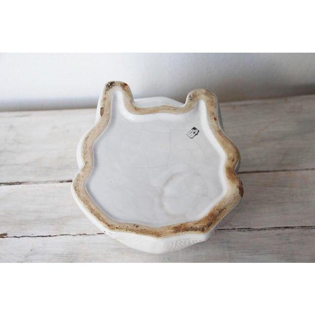 1970s Hobnail Frog Planter in the Style of Jean Roger For Sale - Image 12 of 13
