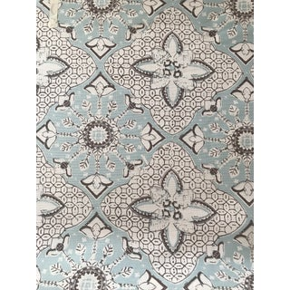 Quadrille / China Seas Batik Fabric - 7 1/2 Yards For Sale