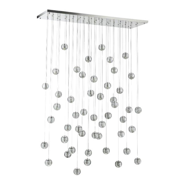 Modern Meteor Shower Chandelier For Sale