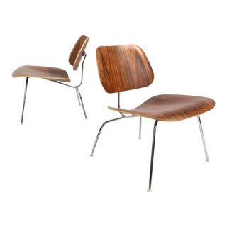 Matched Pair of Eames LCM Lounge Chairs by Herman Miller For Sale