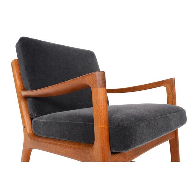 Ole Wanscher Teak Senator Rocking Chair - Image 2 of 8