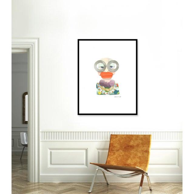 Giclée on textured fine art paper with black frame. Unframed print dimensions: 30.25x40.25. Morgan Elvington Walker...