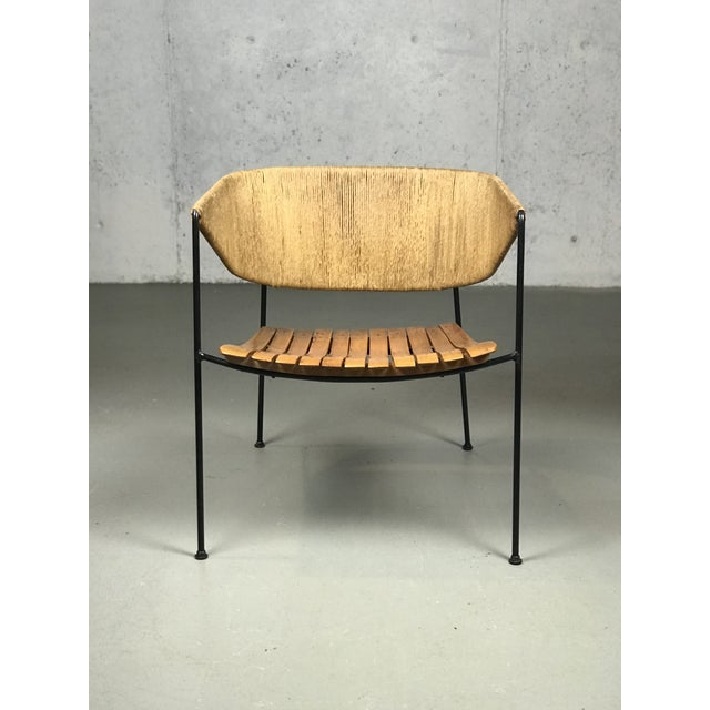 Exceptional 1950's Mid Century Modern Lounge Chair by Arthur Umanoff for Shaver Howard & Raymor For Sale In Boston - Image 6 of 13
