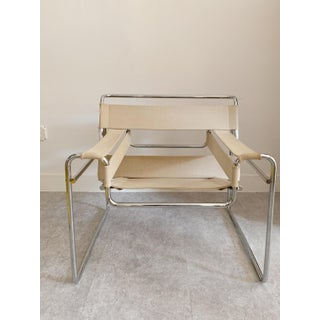 1950s Vintage Canvas Wassily Chair by Marcel Breuer Preview