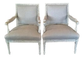 Image of Figurative Bergere Chairs