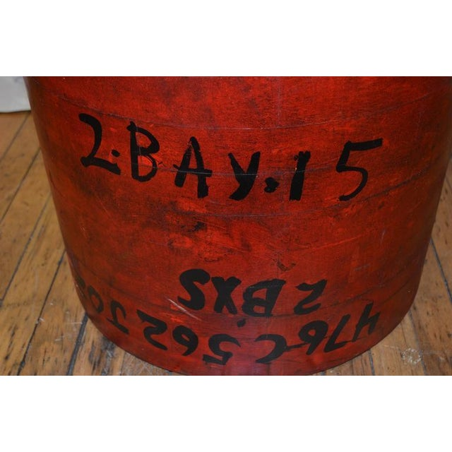 Industrial End Table For Sale - Image 9 of 10