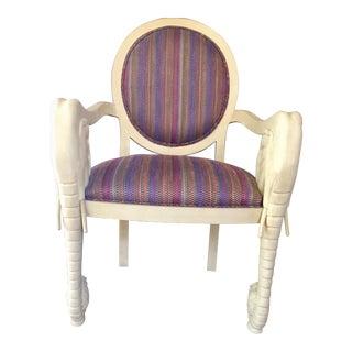 Casa Bique Vintage Elephant Chair