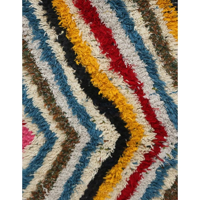 1980s Azilal Moroccan Rug - 6′2″ × 13′9″ For Sale - Image 6 of 7