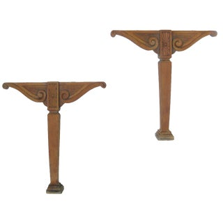 Lovely French Architectural Elements, Pair For Sale