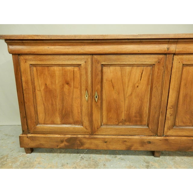 French Walnut 19th Century Enfilade For Sale - Image 9 of 12