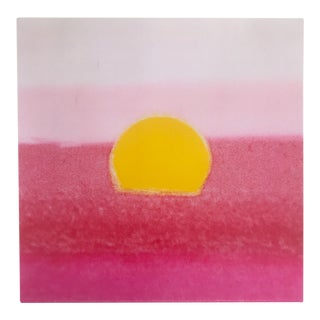 "Andy Warhol Foundation Pop Art Sunset Series Lithograph Print ""Pink Sunset"" 1972 For Sale"