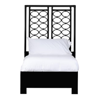 Infinity Bed Twin Extra Long - Black For Sale