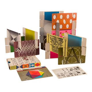 Eames Giant House of Cards - 21 Pieces