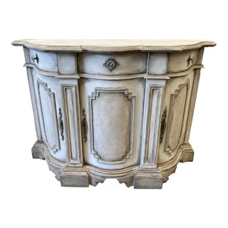 Italian Painted Petite Console Buffet - Early 20th C For Sale