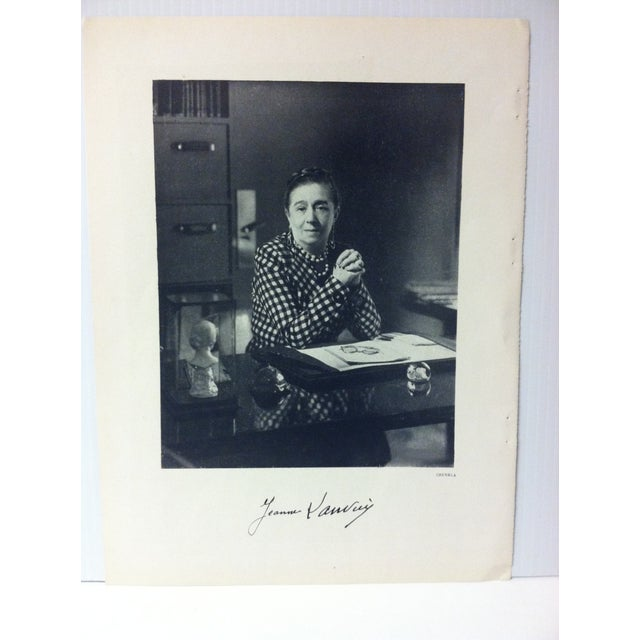 """1946 """"Jeanne Lanvin"""" Art Et Style French Print For Sale - Image 4 of 4"""