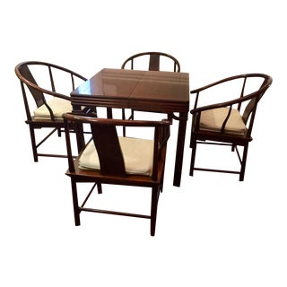 Baker Chinoiserie Style Dining Set - Set of 5