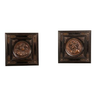 1860s Italian Renaissance Style Cameo Portraits - a Pair For Sale