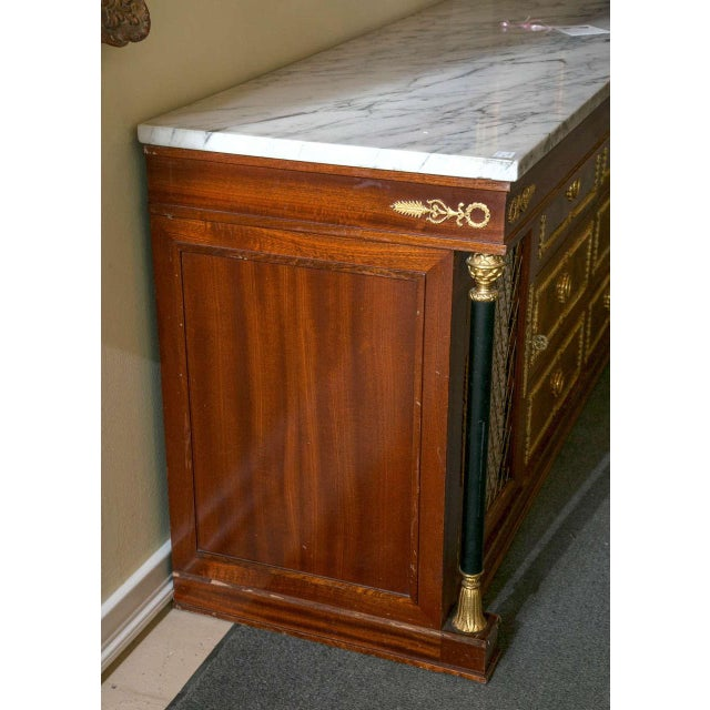 Palatial Empire-Style Sideboard For Sale - Image 9 of 11