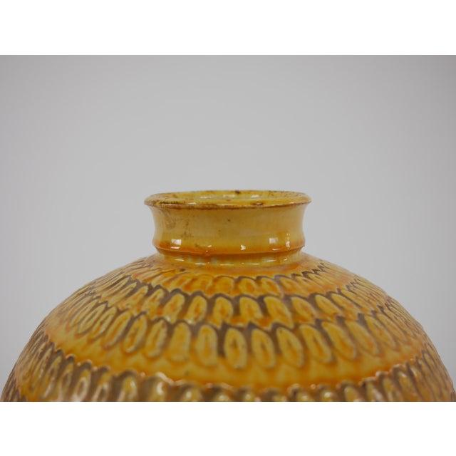 Danish Modern Large Floor Vase by Svend Hammershøi for Herman a Kahler Keramik For Sale - Image 3 of 8