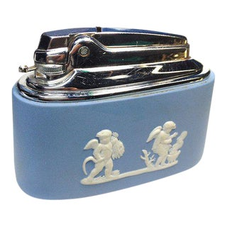 Wedgwood Table Top Lighter For Sale