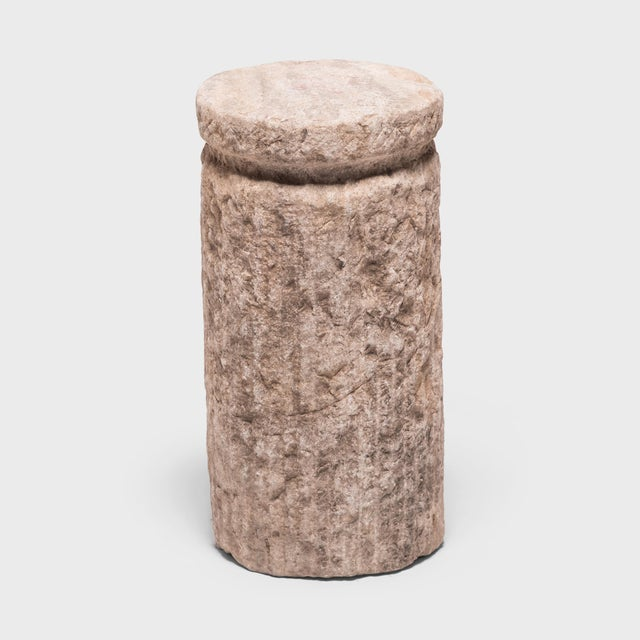 Asian Early 20th Century Chinese Cinched Mill Stone For Sale - Image 3 of 11