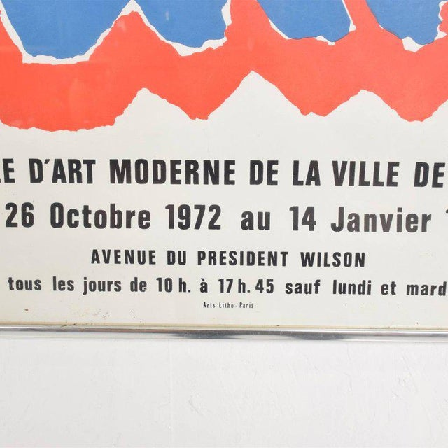 Tapisseries De Sonia Delaunay 1972 Paris Litho Poster For Sale In San Diego - Image 6 of 8