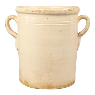 Antique Italian Confit Pot For Sale
