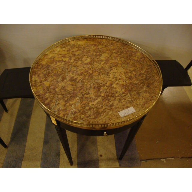 Louis XVI Style Bouillotte End Tables - A Pair For Sale In New York - Image 6 of 11