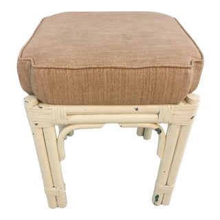 Painted Vintage Stool For Sale
