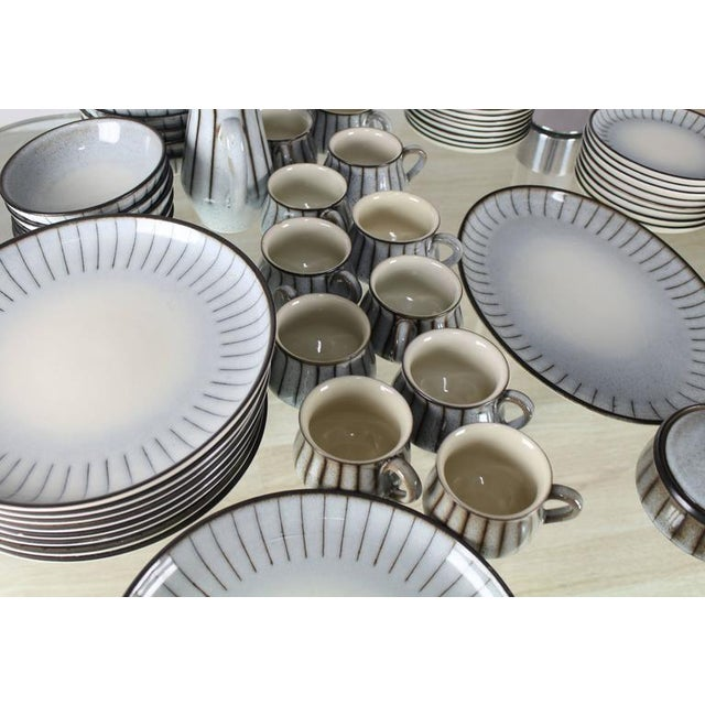 denby mid century modern dinnerware set dishes plate soup bowls image 6 of 7 - Modern Dinnerware